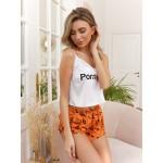 Пижама женская с шортами Pornhub / Wow Melony
